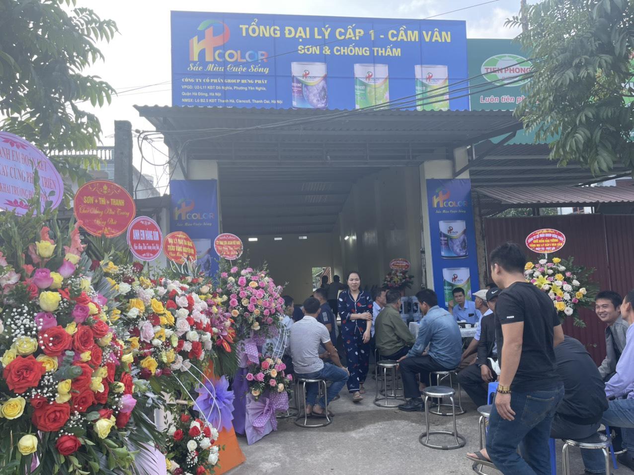 khai trương cơ sở mới Cầm Vân